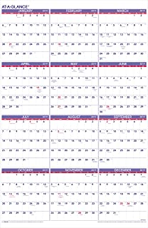 amazon com at a glance 2014 yearly wall calendar 24 x 36 inches