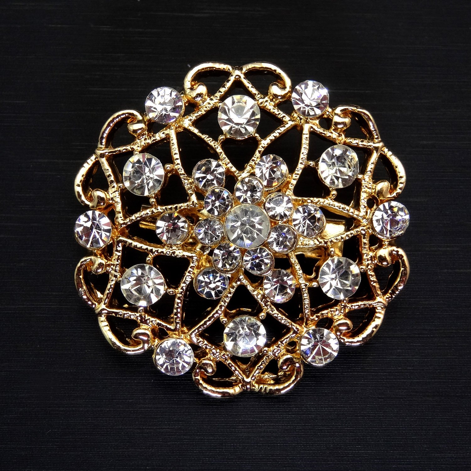 TOOKY 12pcs Mix Set Crystal Brooches Flower Brooch Collar Pin Corsage Bouquet Decor Wholesale Lot DIY BROACH wzzByyq