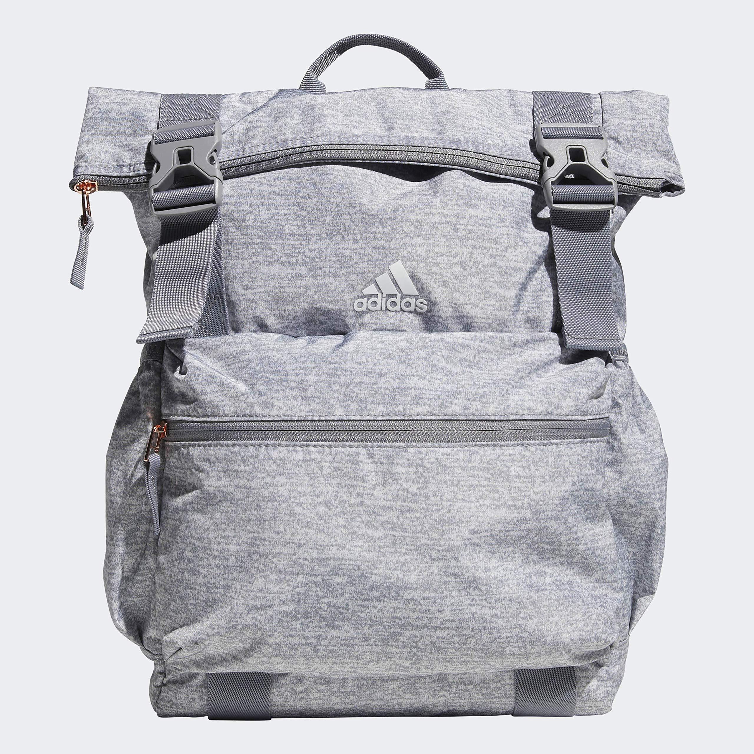 adidas Unisex Yola Backpack, Light Jersey/Grey/Rose