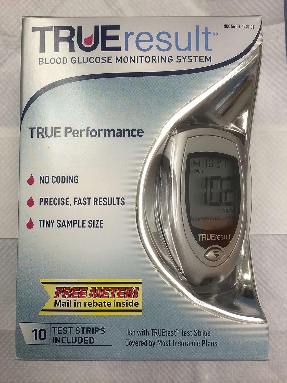 True Control Trueresult Blood Glucose Starter Kit