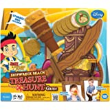 Jake and The Never Land Pirates Shipwreck Beach Treasure Hunt Game, Yellow