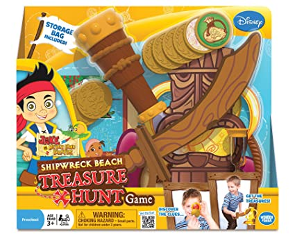 Amazon.com: Jake and The Never Land Pirates Shipwreck Beach Treasure ...