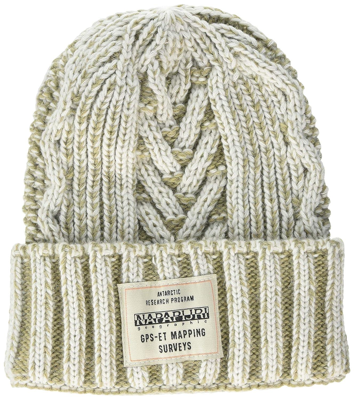34594a602b86ca Napapijri Men's Freman Hat Beret, (Multicolour M52), One (Size: D): Amazon. co.uk: Clothing