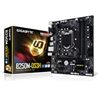 Gigabyte GA-B250M-DS3H SATA 6Gb/s USB 3.1 Micro ATX Intel Motherboard