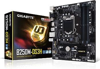 Gigabyte GA-B250M-DS3H SATA 6Gb/s Micro ATX Intel Motherboard