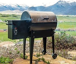Traeger TFB29LZA Junior Elite Wood Pellet Grill and Smoker