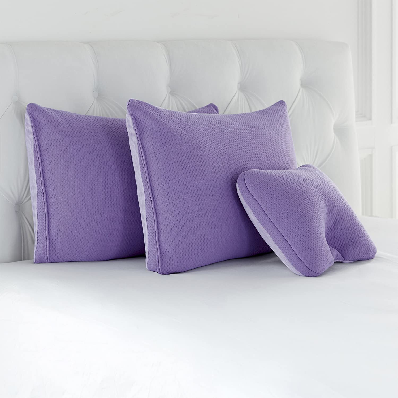 Joy Mangano Set of Three Pillows, Green