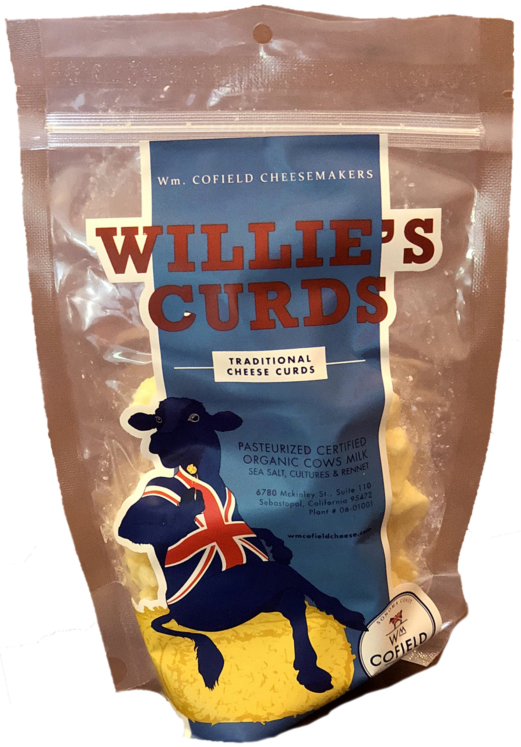 William Cofield ''Willie's'' Fresh Cheese Curds, 32 oz (2 lbs)