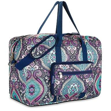 789f88682753 Travel Foldable Waterproof Duffel Bag - Lightweight Carry Storage Luggage  Tote Duffel Bag.