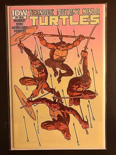 Teenage Mutant Ninja Turtles 2014 #38 Retail Incentive IDW ...