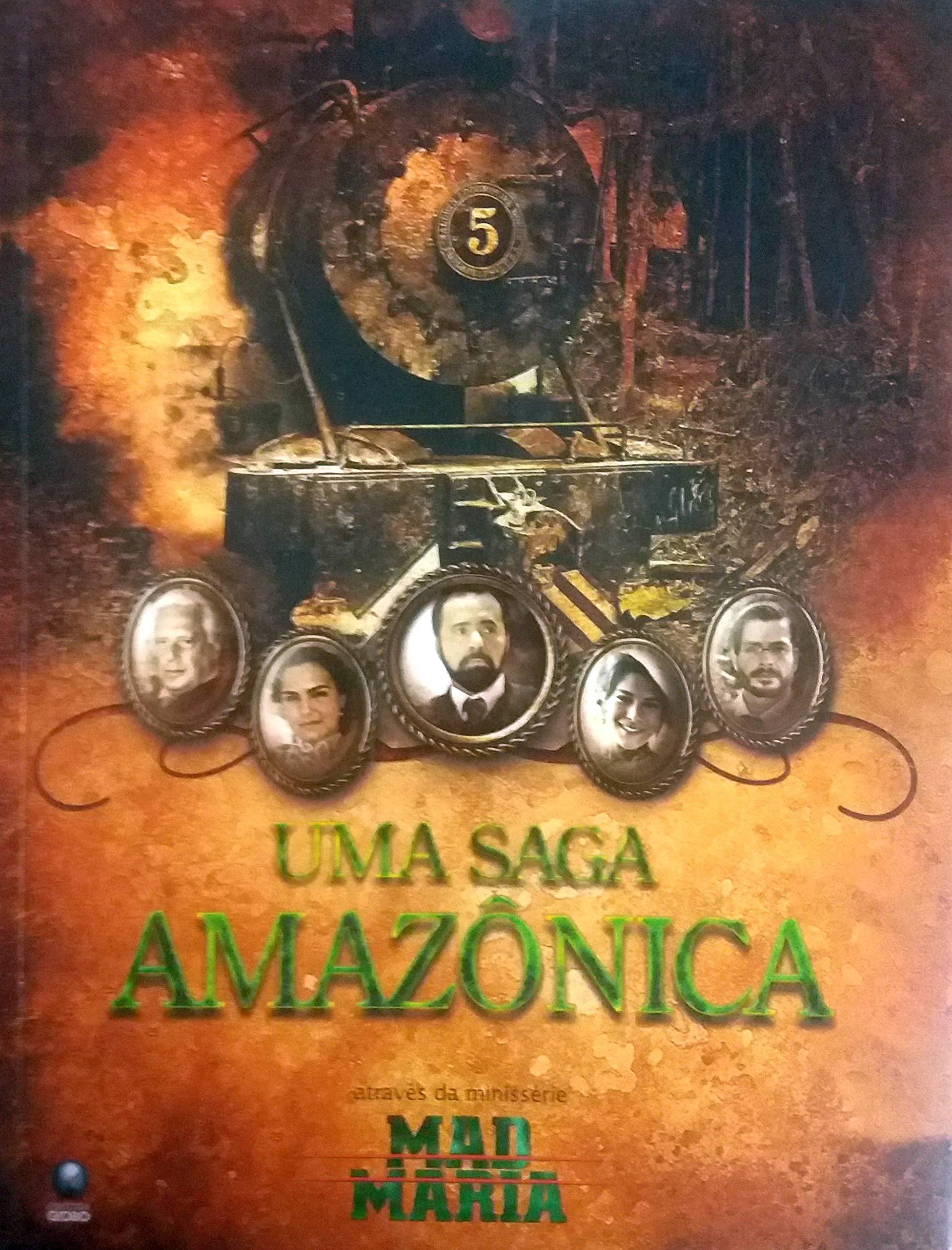 Uma Saga Amazonica - Atraves Da Minisserie Mad Maria | Amazon.com.br