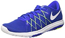 Nike Mens Flex Fury 2 Racer Blue/White/Vlt/DP Royal Blue Running Shoe 11.5 Men US