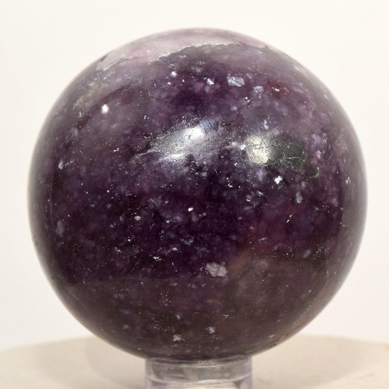Lepidolite Sphere 5