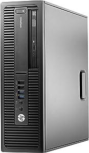 HP EliteDesk 800 G2 SFF Desktop PC: Intel Core i5-6500 Quad-Core 3.2GHz | 500GB HDD | 8GB RAM | Windows 10 Professional (Renewed)