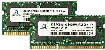 【クリックでお店のこの商品のページへ】Adamanta 16?GB ( 2?x 8gb )ノートPCメモリアップグレードfor HP TouchSmart 610???選択1010sc ddr3?1333?MHz pc3???10600?cl9?SODIMM 2rx8?1.5?VノートブックDram