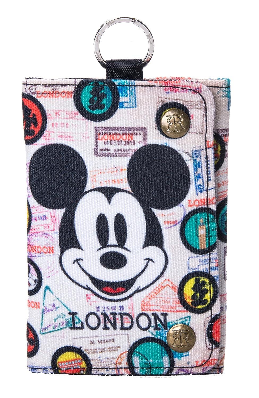 London Disney Motive auf Taschen und Geldbörsen mit Mickey und Minnie Mouse (DBE799A Tasche Mickey/London)