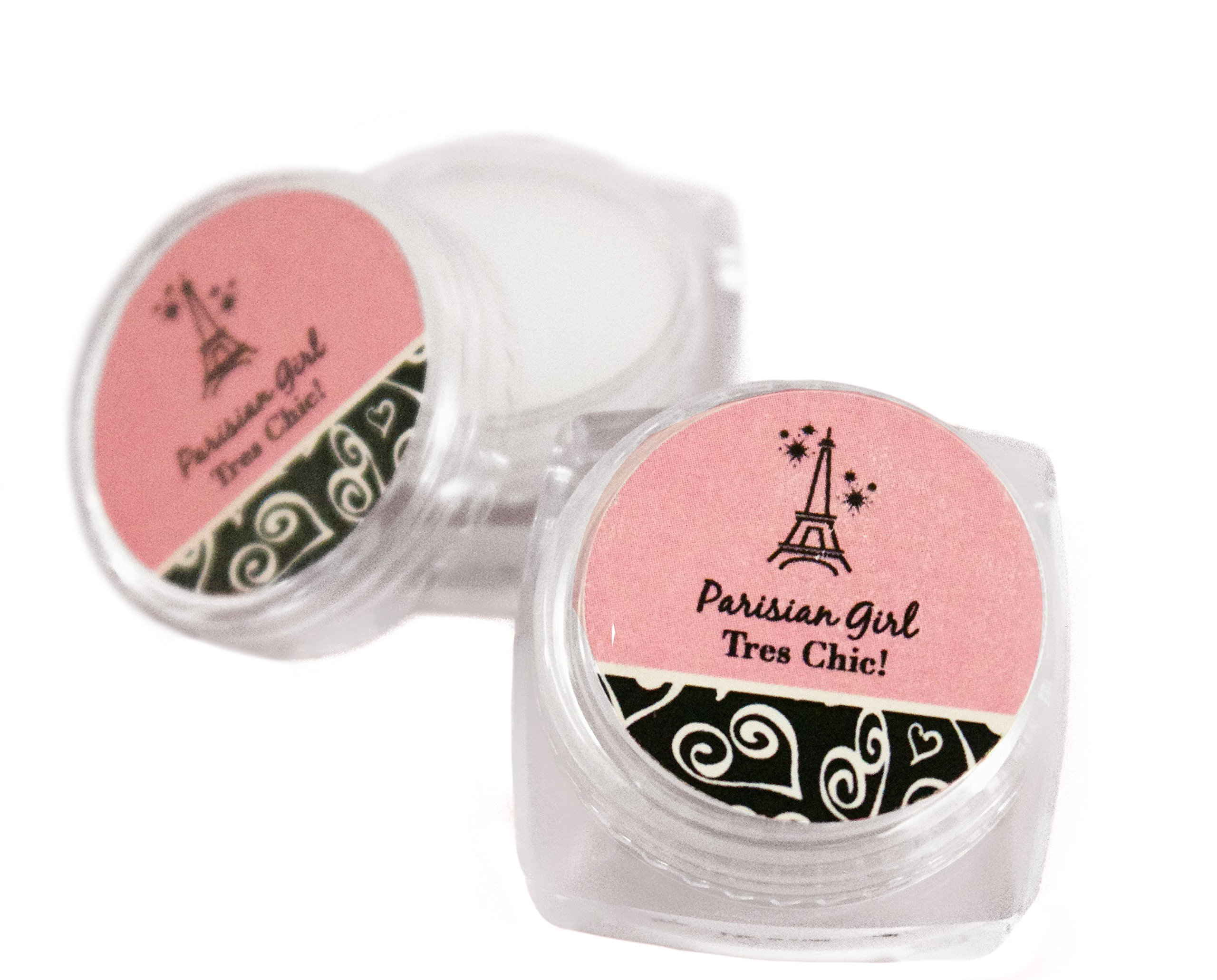 Eiffel Tower Paris Theme Birthday Party Supplies Lip Balm Favors Set of 12 by The French Concept