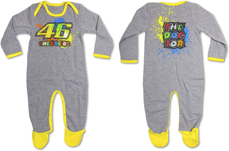Pijama de una pieza - Vr46 Valentino Rossi tg. 24M: Amazon.es ...