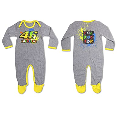 Pijama pelele VR46 gris tg. 12 meses: Amazon.es: Coche y moto