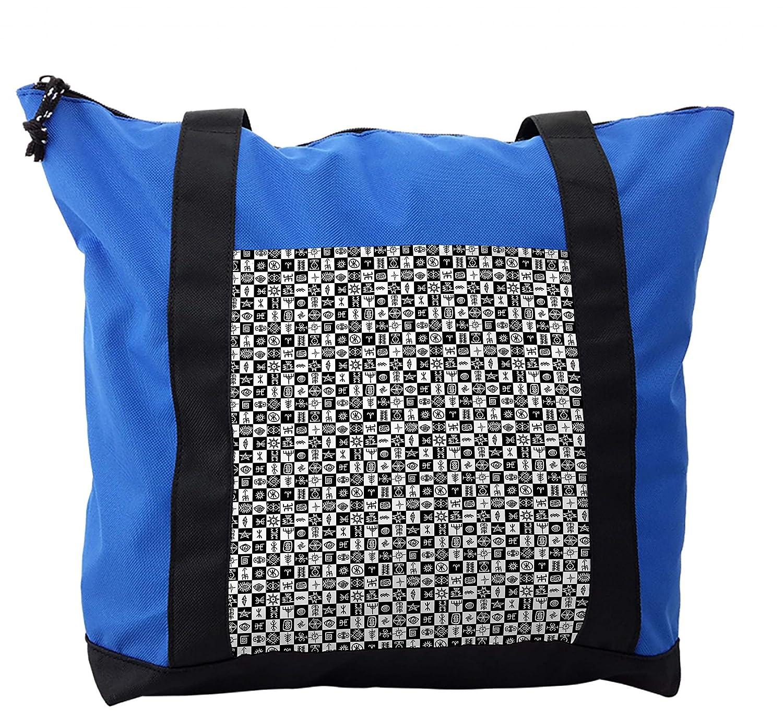 Amazon.com | Lunarable Tribal Shoulder Bag, Ancient Ethnic ...
