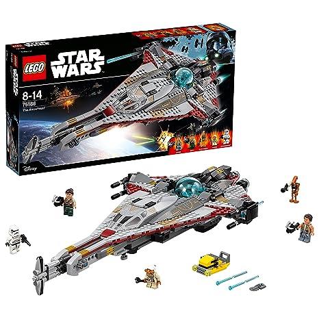 La The De Guerra Lego Star Detallada Juguete Las Wars Galaxias75186 Nave ArrowheadMaqueta 8k0wPXNnO