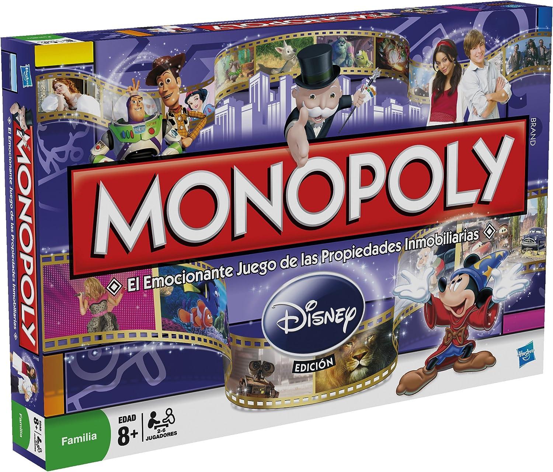 Hasbro Juego de Mesa - Monopoly Disney: Amazon.es: Juguetes y juegos