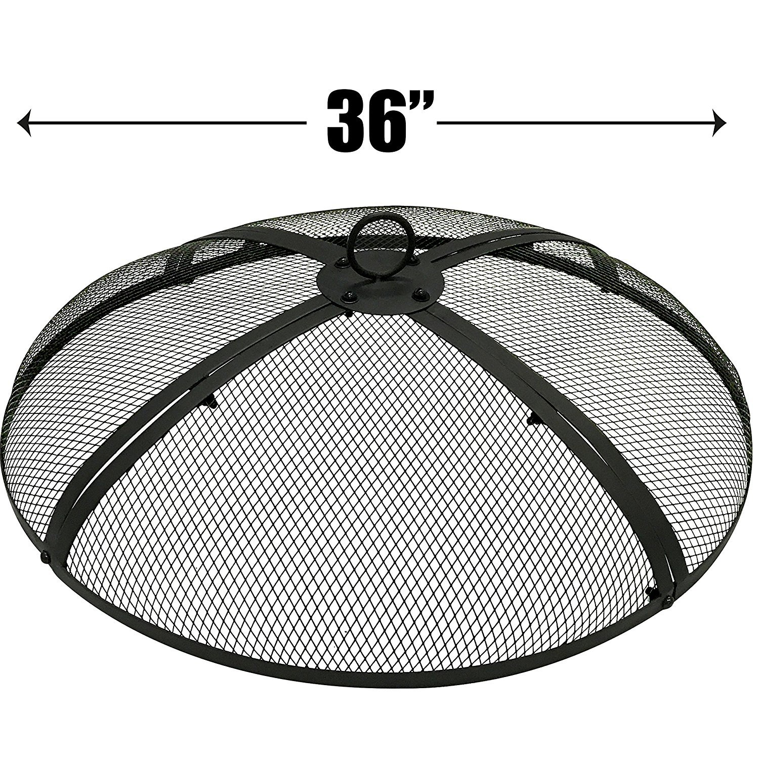 EasyGo 36 inch Round FIRE Screen - FIRE Pit Cover - FIRE Screen Protector EasyGoProducts