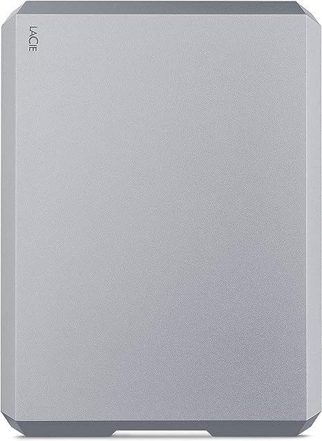 LaCie Mobile Drive 2TB, Disco Duro Externo portátil, Space Grey ...