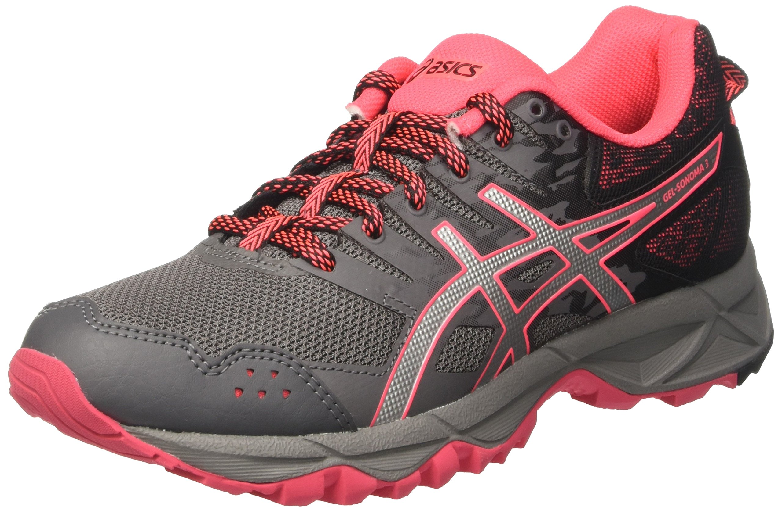 Asics Gel Sonoma 3 Women's Trail Running Shoes - SS17 - 7.5 - Silver