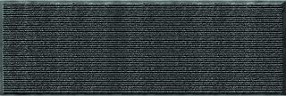 product image for Utility Mats Enviroback Apache Rib Runner, Pepper, 24-Inch X 72-Inch