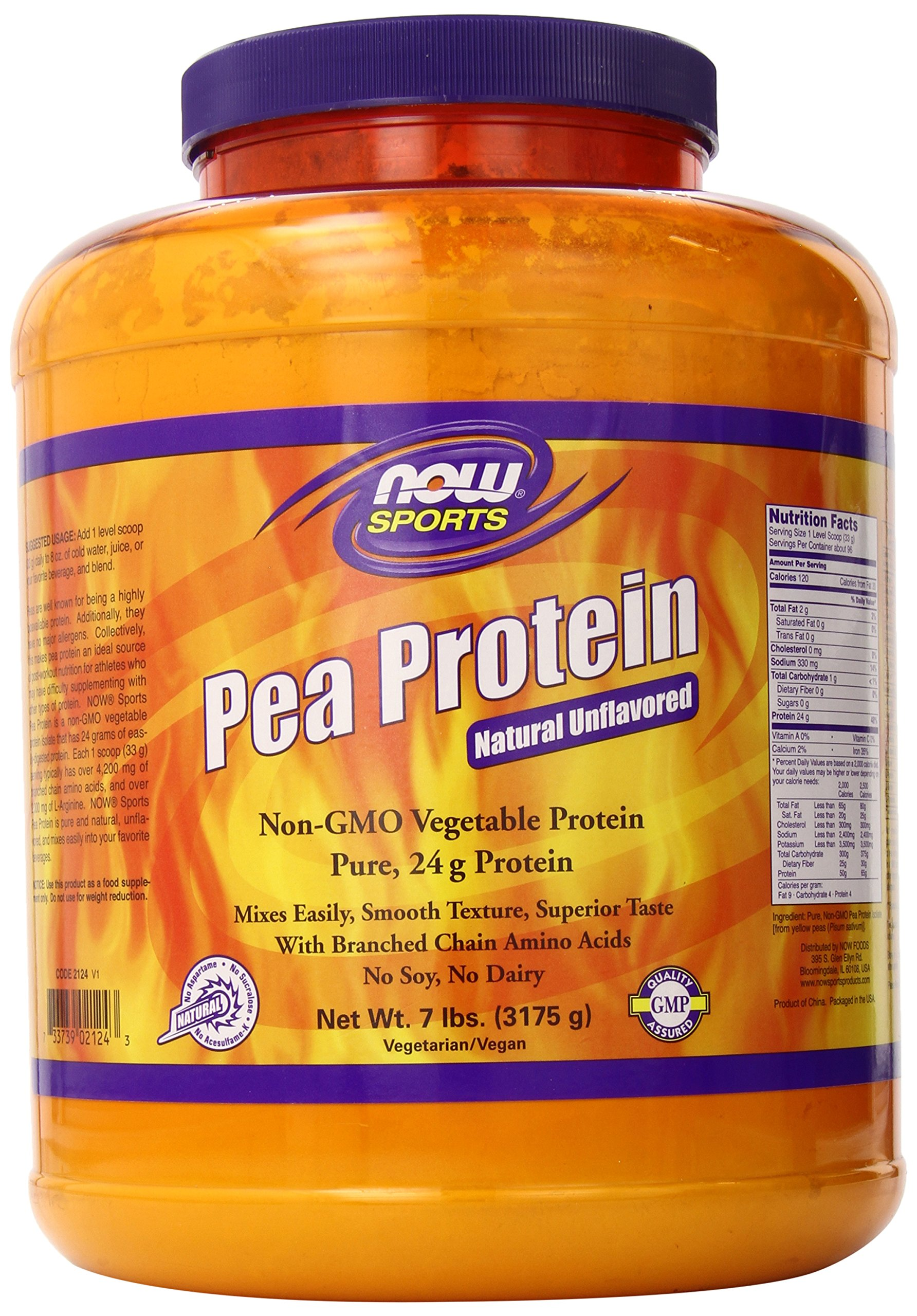 Amazon.com: NOW Sports Sprouted Brown Rice Protein Powder