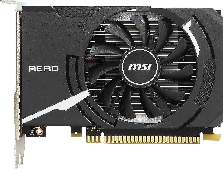 MSI NVIDIA GeForce GT 1030Aero ITX 2G OC GDDR564bit RAM, PCI Express–nero