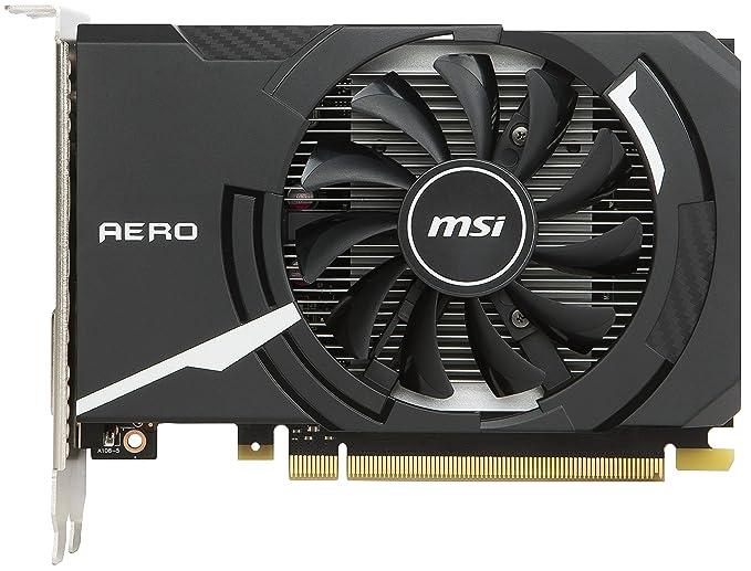 MSI GeForce GT 1030 Aero ITX 2G OC - Tarjeta gráfica (tamaño ITX ...