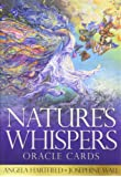 Nature's Whispers Oracle Cards: 50 full colour cards and 72-page guidebook set, packaged in a hard-cover box.