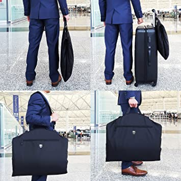 Amazon.com: travando Suit Carrier con 15