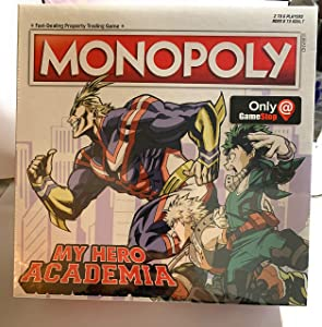 USApoly Exclusive My Hero Academia Unique Gameboard