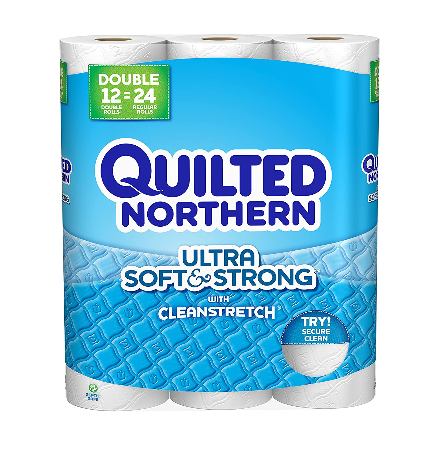 Quilted Northern Ultra Soft and Strong Bath Tissue, 12 Count by Quilted Northern B0185QYJ5M