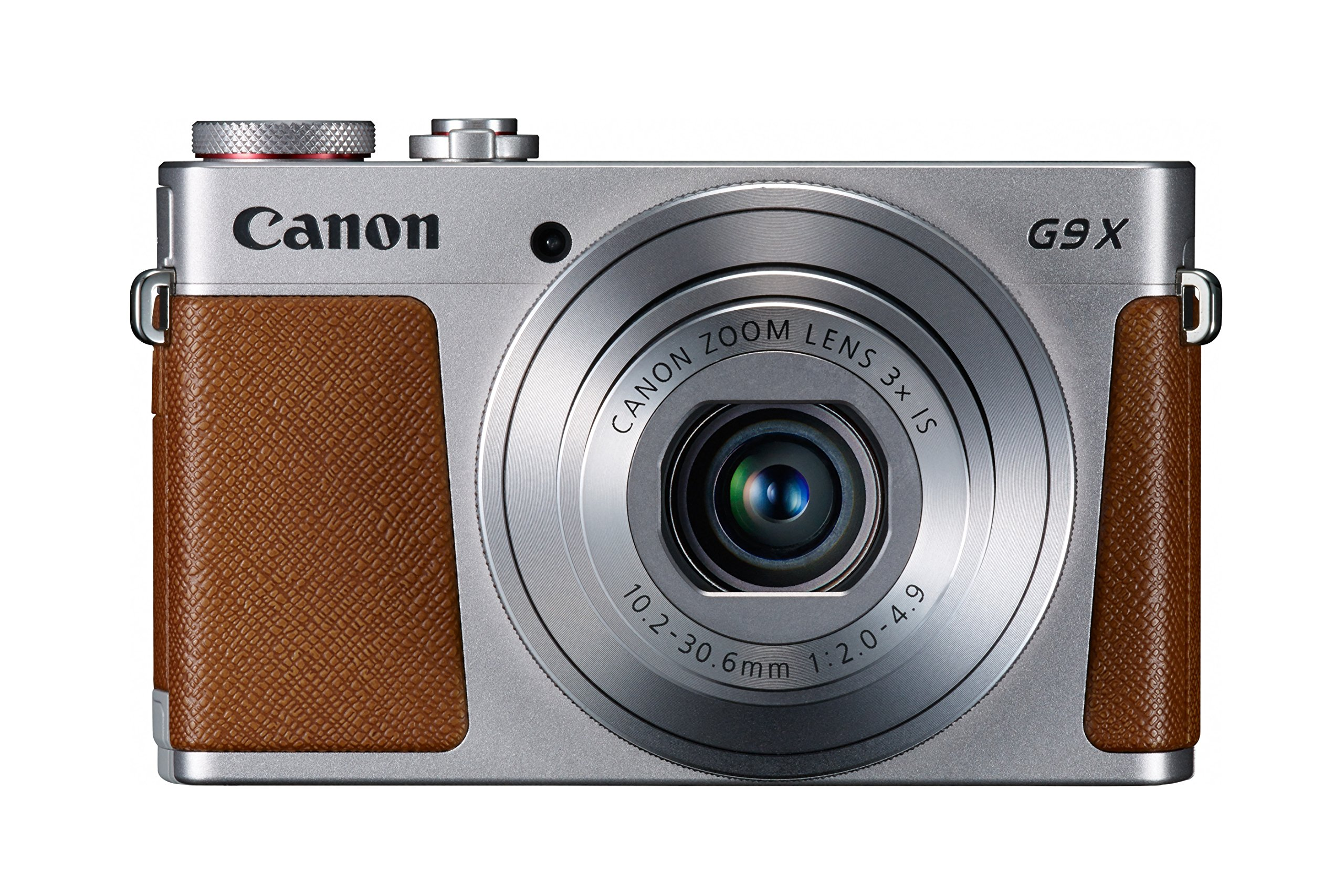 Canon PowerShot G9 X Digital Camera with 3x Optical Zoom, Built-in Wi-Fi and 3 inch LCD touch panel (Silver) by Canon