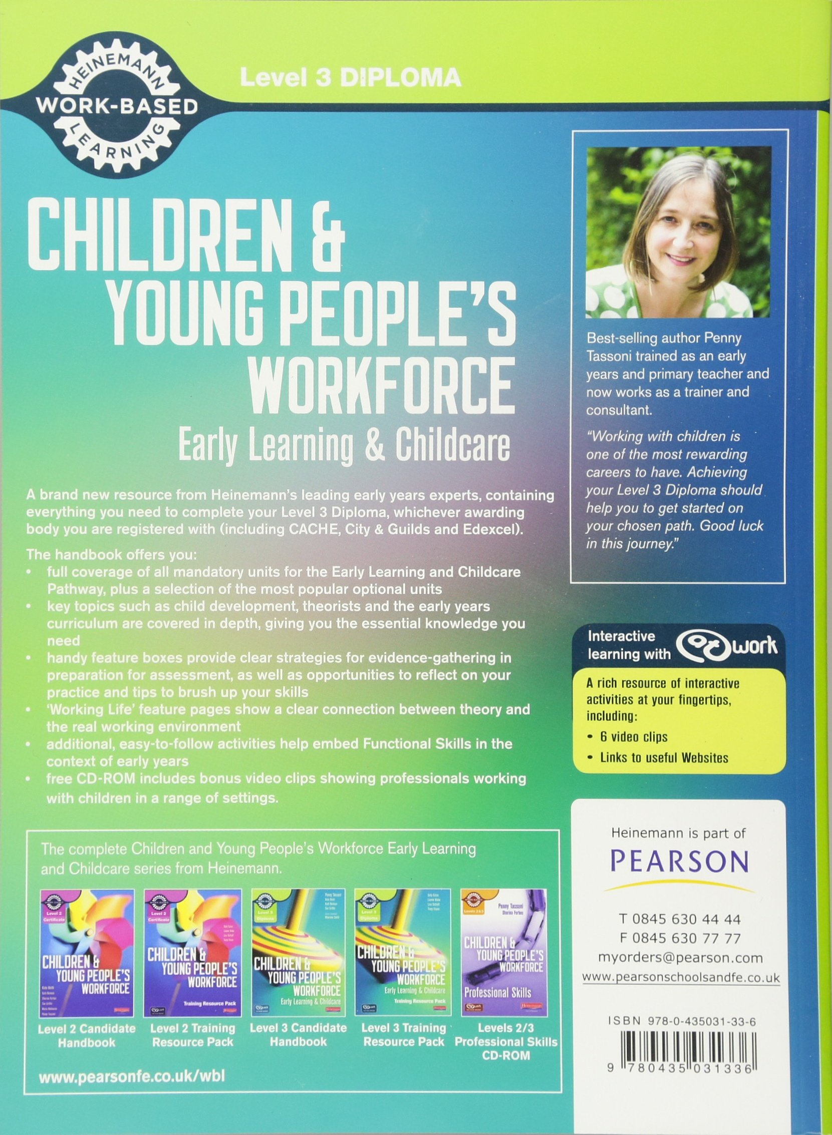 Level 3 Diploma Children and Young People's Workforce Early Learning and Childcare  Candidate Handbook Level 3 Diploma for the Children and Young People's ...