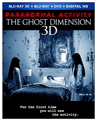 Amazon Com Paranormal Activity The Ghost Dimension Blu Ray Don