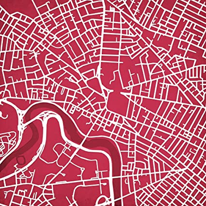 Amazon Com Harvard University Campus Map Art 30 Gallery Wrapped