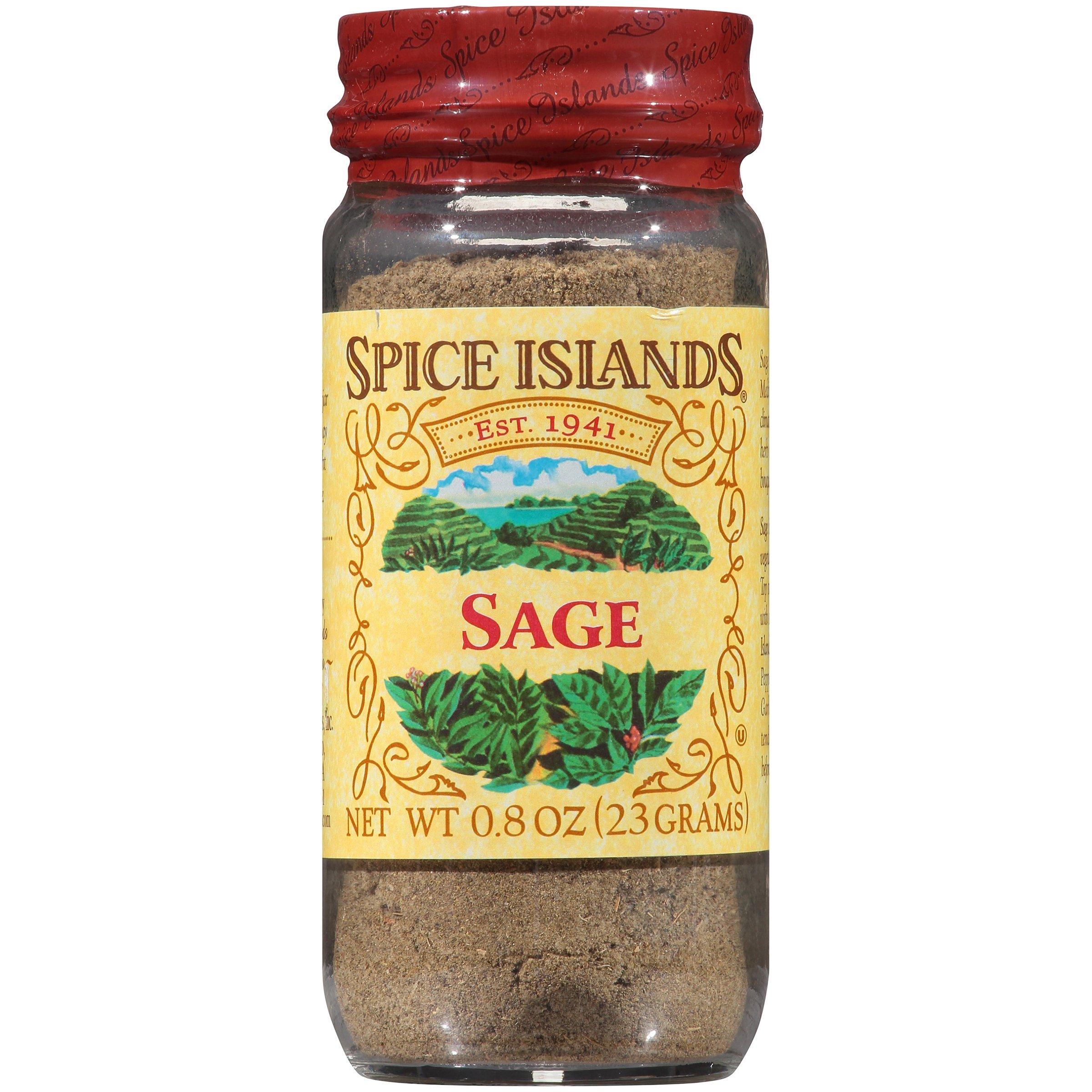 Spice Island Sage, 0.8-Ounce Jar (Pack of 4)