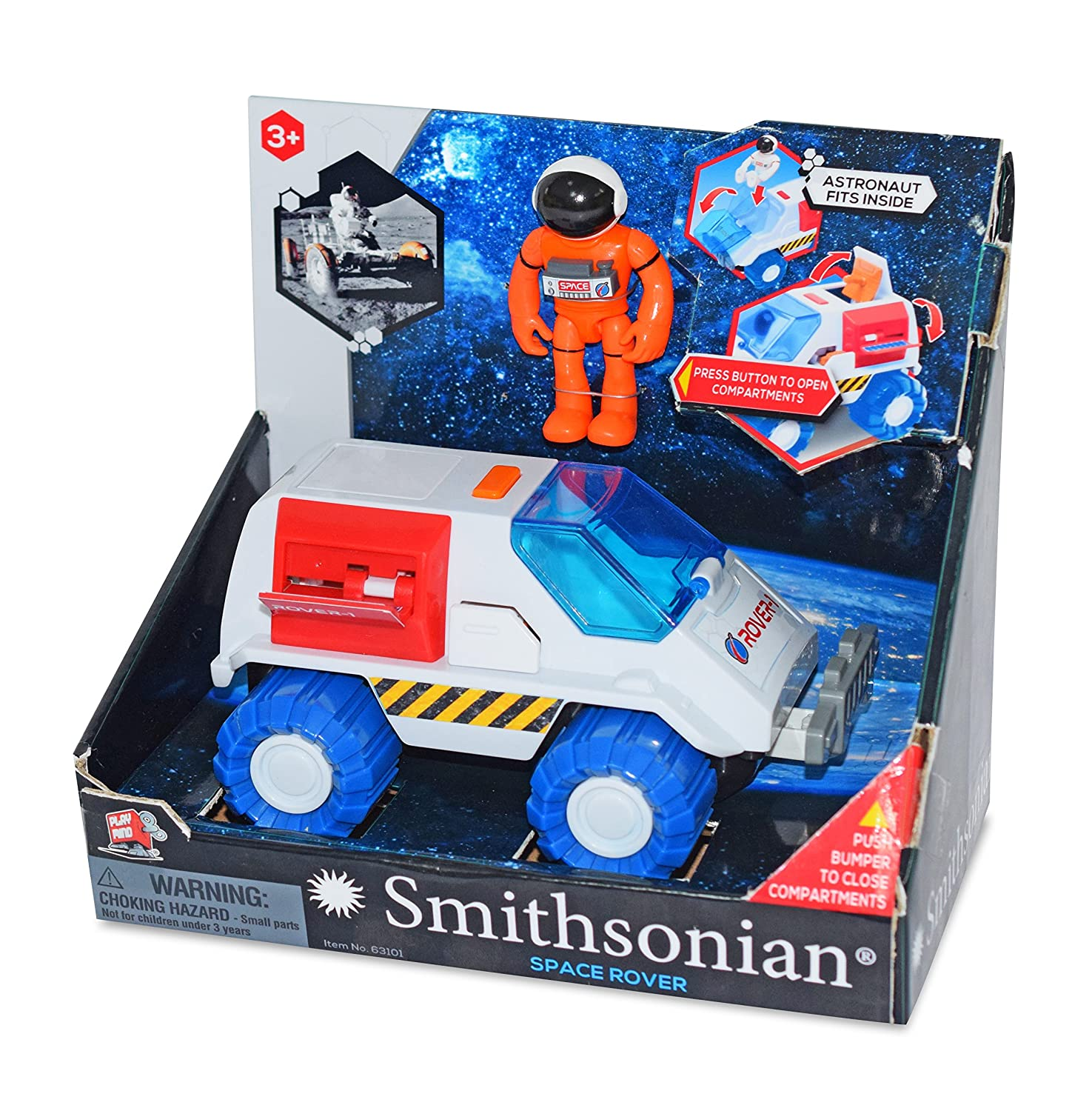 dba National Products Ltd 63101MB Smithsonian Space Rover Fun Creation Inc Drop Ship Ordering Code