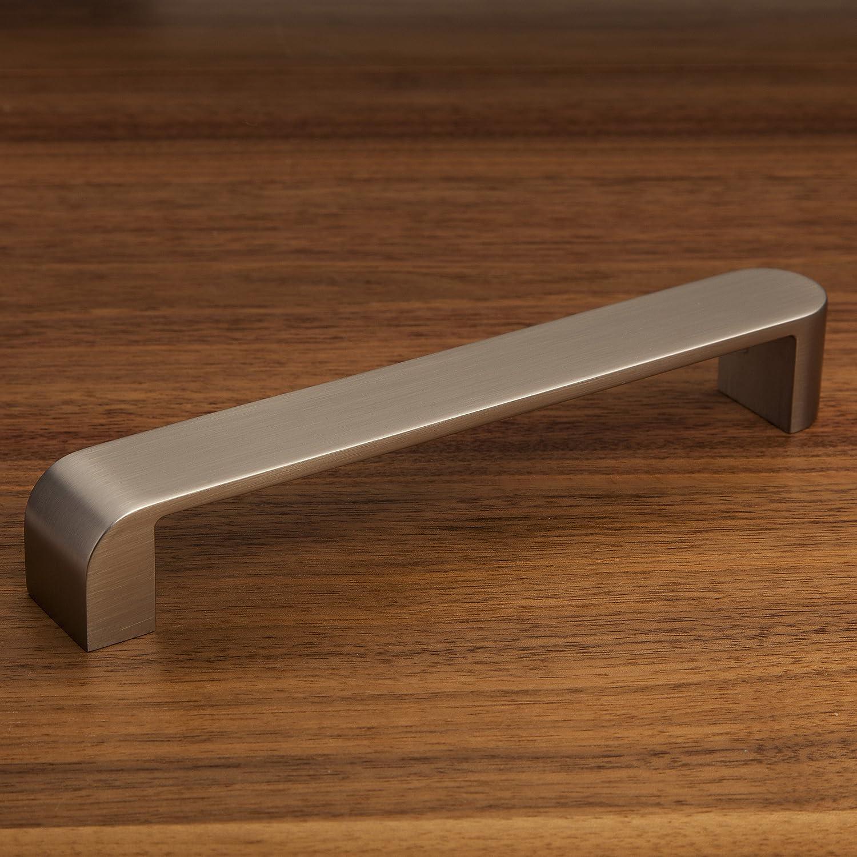 SO-TECH/® Manilla de mueble ManillaXena Aspecto de acero fino Distancia agujero 160 mm