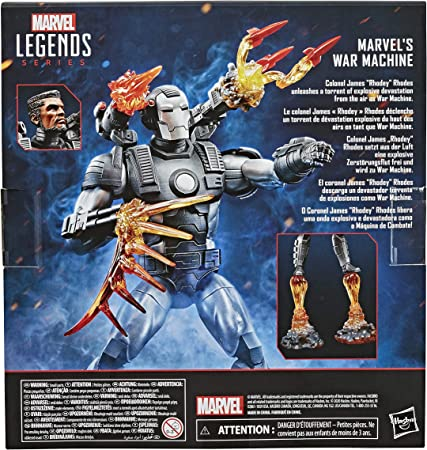 Marvel Legends Figura de Luxe War Machine (Hasbro E93015L0): Amazon.es: Juguetes y juegos