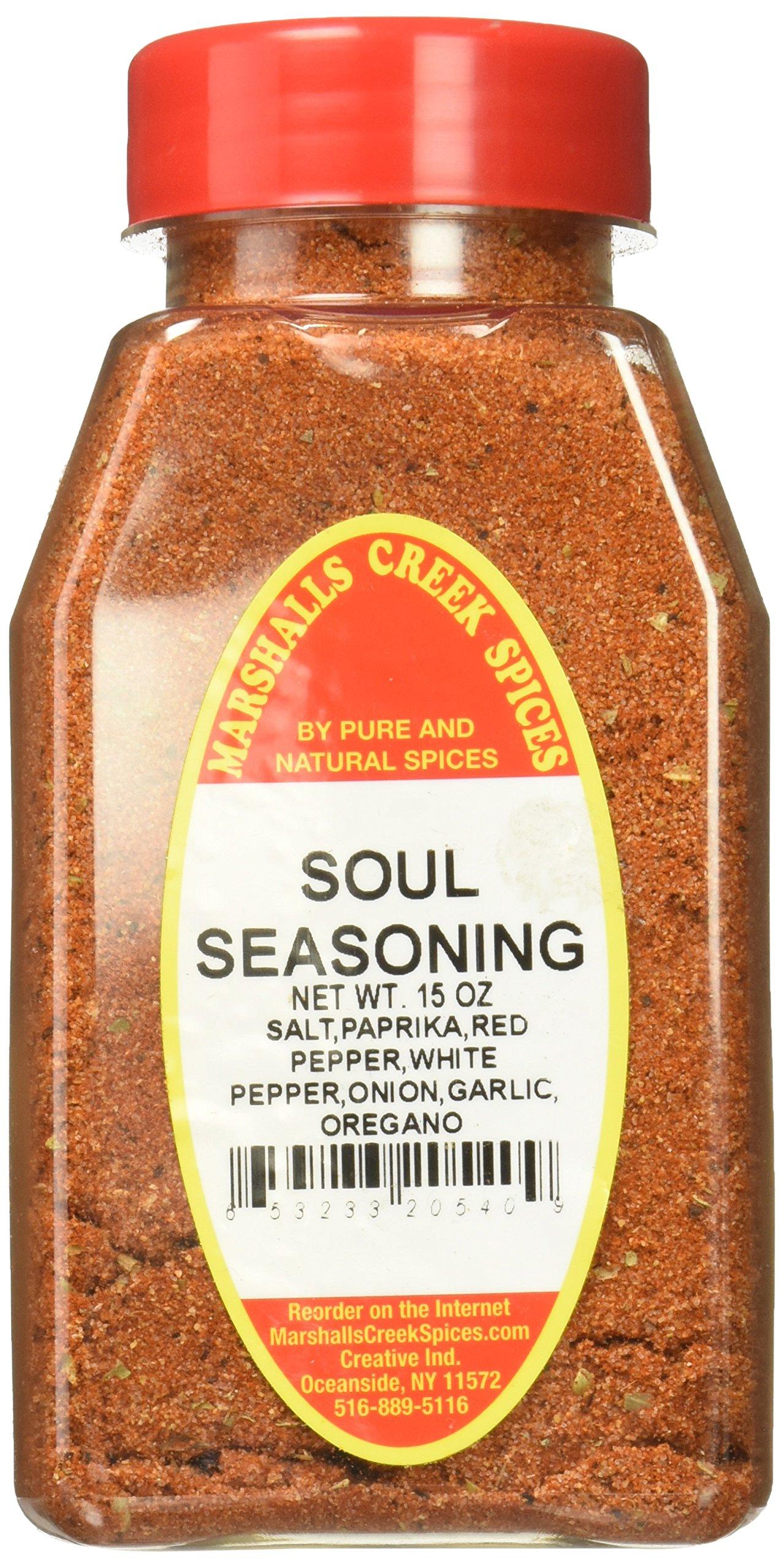 Marshalls Creek Kosher Spices SOUL SEASONING 15 oz
