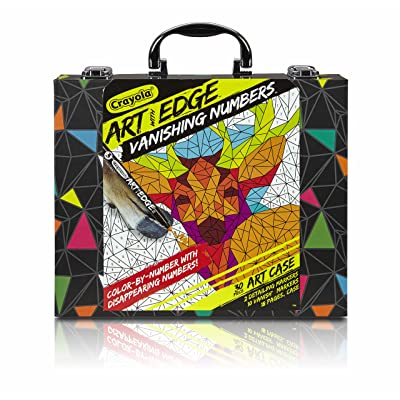 Crayola Art with Edge Vanishing Numbers Art Case Art with Edge: Toys & Games