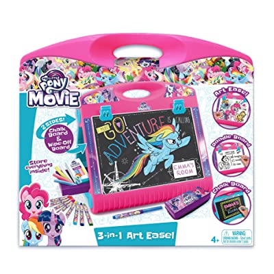 My Little Pony 3-in-1 Art Easel 3-in-1 Art Easel: Toys & Games
