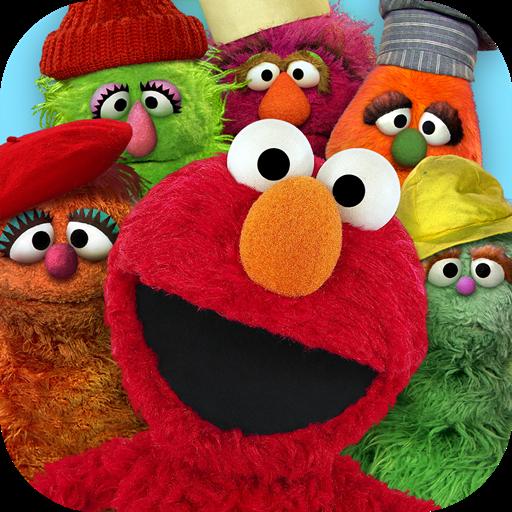 Elmo's Monster Maker - Street Sesame Monster Cookie Game