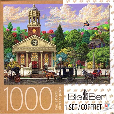 Church 1000 Piece Puzzle: Toys & Games
